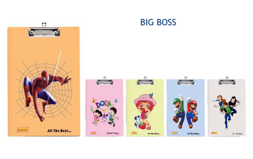 Big Boss Clip Board Unbreakable Printed