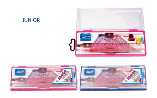 Junior Geometry Box Plastic