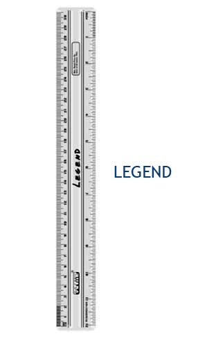Legend 30cm Scale