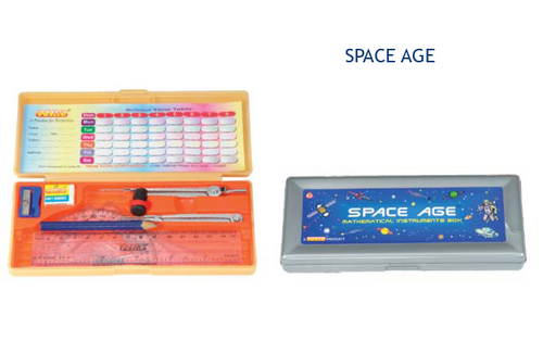 Space Age Geometry Box Plastic