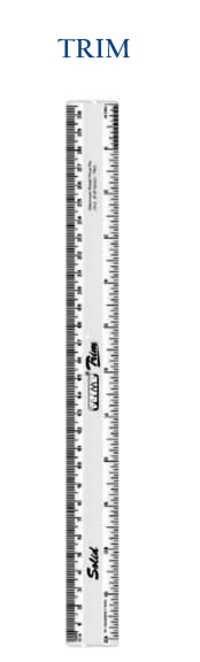 Trim 30cms Scale