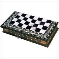 wooden inlaid chess Box