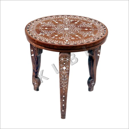 Wooden Inlaid tables