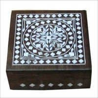 Inlaid wooden boxes