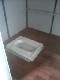 Indian Toilet Cabin