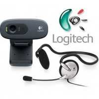 Logitech C 270H WebCam + Headset