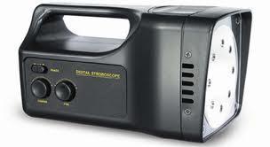 STROBOSCOPE, battery power, LED array