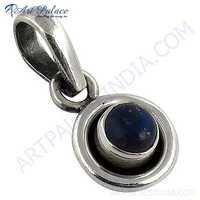 Rady to Wear Lapis Lazuli Gemstone Silver Pendant