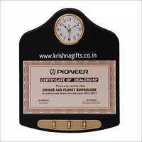 Digital Key Holder Clock