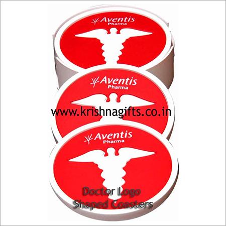 Doctors Logo Coasters Set