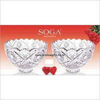 Soga Crystal Finish Bowl Set