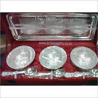Silverware Bowl Set