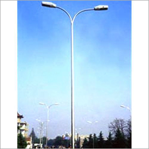 Street Light Pole Erection