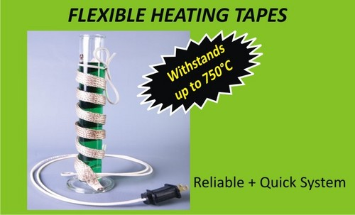 Flexible Heating Tapes & Cords