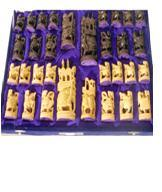 CHESS SET COIN WITH BOX