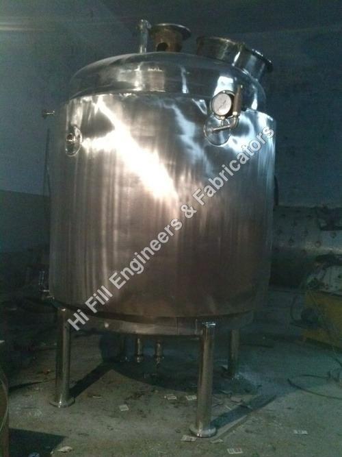 Sugar Melting Tanks