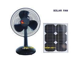 Portable Solar Fan