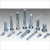 Plated Hex Bolts