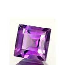 Charming Radiant Cut Synthetic Amethys, Cut Stone, Synthetic Purple Amethyst Cubic Stone