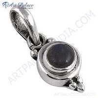 Lastest Luxury Labradorite Gemstone Silver Pendant