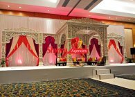 wedding jodha akbar Stage mandap