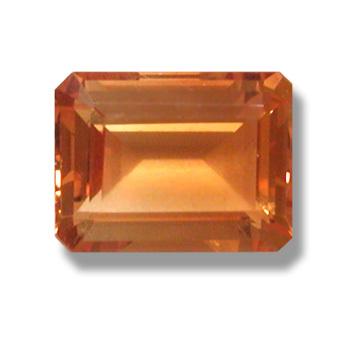 Emerald citrine, replica semi-precious gemstone for yellow color, Synthetic Citrine stone