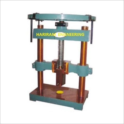 Hand Operated Machine