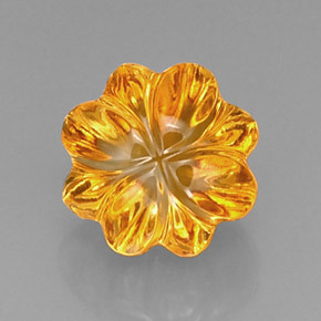Fancy Citrine Yellow Radiant Cut  Loose Stone, shining fancy cut shape real citrine stones