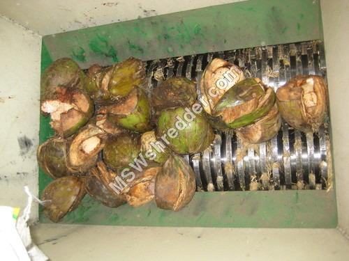 Coconut Husk Front shredder