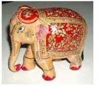 ELEPHANT EMBOSE PAINTING FINE
