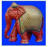ELEPHANT PLAIN PAINTING FINE