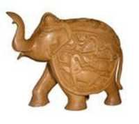 ELEPHANT SHIKAR  CARVEEN FINE