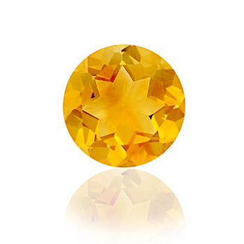 prices of citrine stone from manufacturer, Shinning 10mm Round Brilliant Cut Gemsto