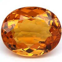 Attractive Oval Shaped Citrine Semi Precious Stones, Citrine oval faceted stone