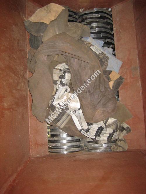 Oil Cloth shredder