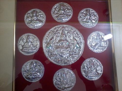 Silver God Coin