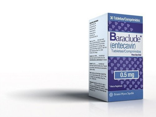 Baraclude Entecavir 0.5mg Tablet
