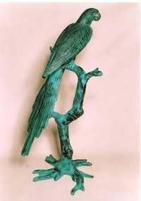 Parrot Sculpture in Aluminium