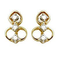vermeil earring, wholesale vermeil jewelry,gold pl