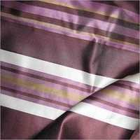 Striped Satin Fabric