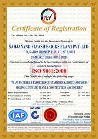 ISO 9001-2008 ZAS-ANS Certificate