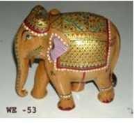 ELEPHANT EMBOSE PAINTING