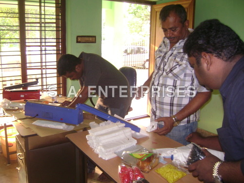 Training photos in Kerala