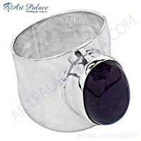 Excellent Style Amethyst  Gemstone Silver Ring