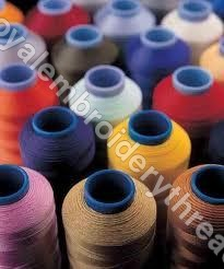 Polyester Embroidery Yarns Cone