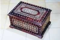 Wooden Inlaid Casket