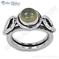 Valuable Moonstone Sterling Silver Ring