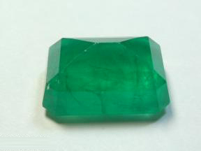 Gem Emerald Cut Stone, Wholesale Color Faceted Gemstones, sakota mines octagon cut emerald stone