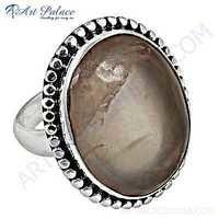 维多利亚女王时代的设计师宝石银圆环与蔷薇石英圆环