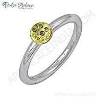 Cute Plain Silver Ring